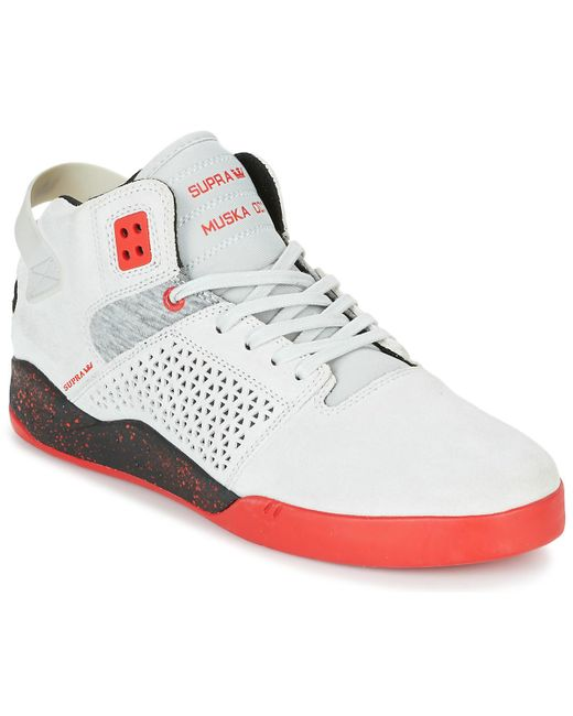 Supra Skytop Iii Women s Shoes (high-top Trainers) In White in White ... bf0701fb8
