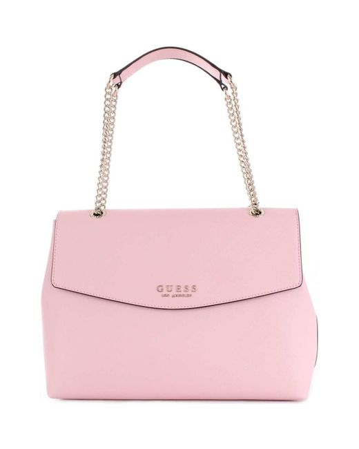 3a5dd38f06 Guess - Pink HWEV7180200 femmes Sac à main en rose for Men - Lyst ...