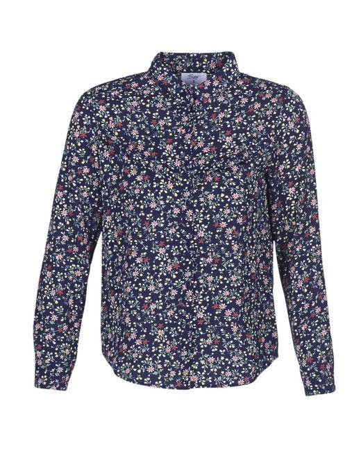 Betty London - Innato Women's Shirt In Blue - Lyst