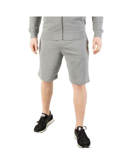 Lyle & Scott - Gray Men's Logo Sweat Shorts, Grey Men's Shorts In Grey for Men - Lyst
