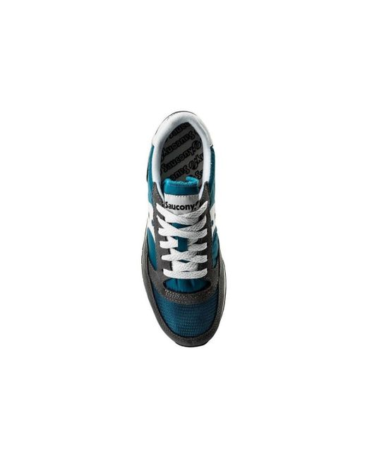 detailed look b7539 e3782 ... Saucony - Jazz Original Vintage S70368-20 Men s Shoes (trainers) In  Blue for ...