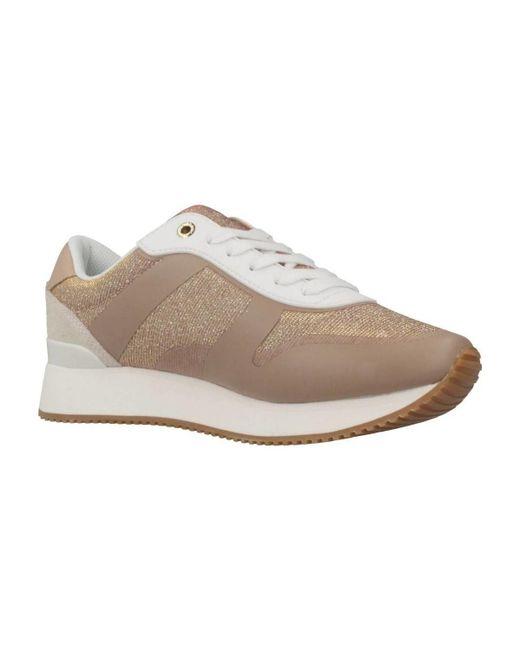 ec29da08dfa4f ... Tommy Hilfiger - Glitter City Sneaker Women's Shoes (trainers) In Pink  ...