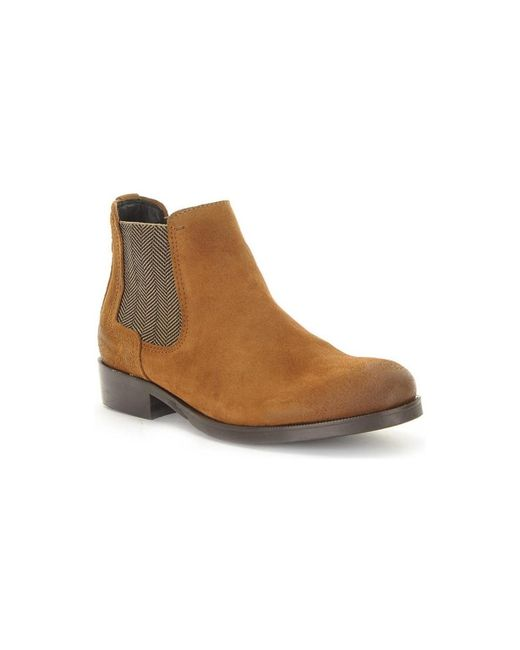 Tommy Hilfiger | Avive 12b Women's Mid Boots In Brown | Lyst