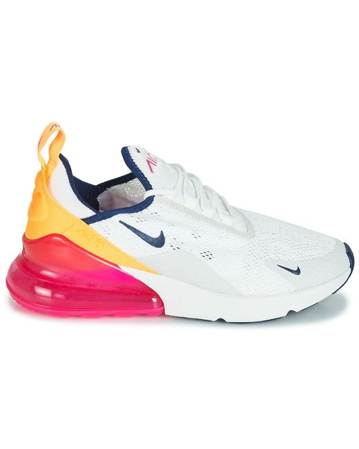 6ee9ba5d9f Nike Air Max 270 W Women's Shoes (trainers) In White in White - Lyst