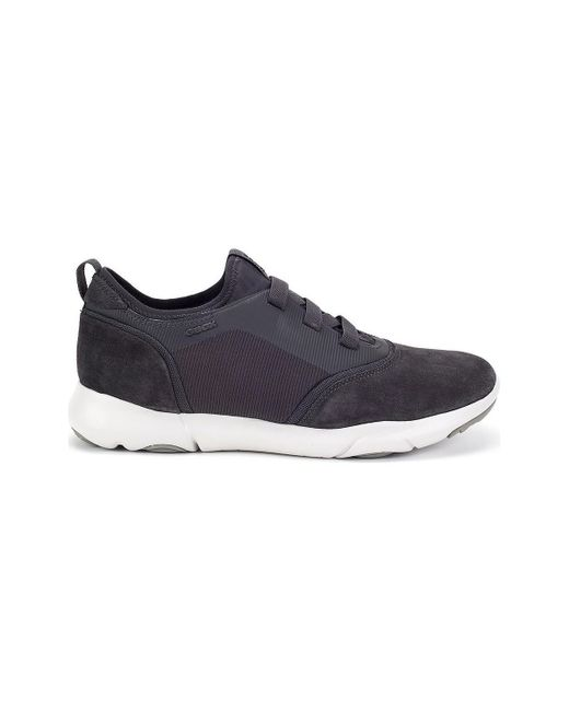 Geox - Gray Nebula Man Men's Shoes (trainers) In Grey for Men - Lyst