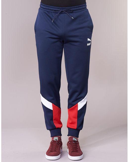 80cc2d5189 ... PUMA - Blue CL MCS TRACK PANTS hommes Jogging en bleu for Men - Lyst ...