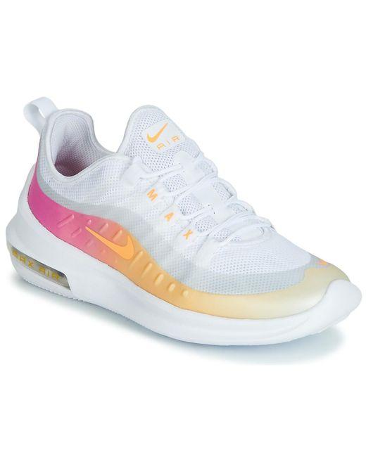 super popular 8e680 de3f2 Nike - Air Max Axis Premium W Women s Shoes (trainers) In White - Lyst ...