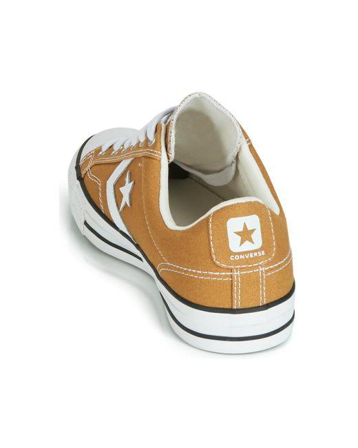 Converse Star Player Campus Colors Ox Schuhe braun