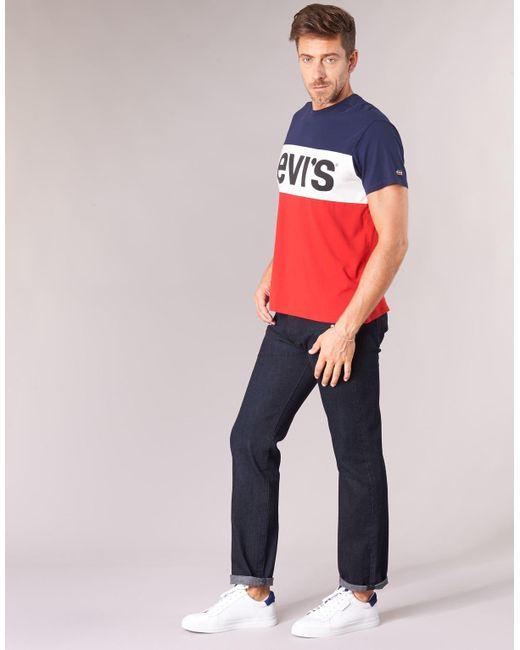 352fa763 ... Lyst Levi's - Blue 501 Levi's Original Fit Jeans for Men ...