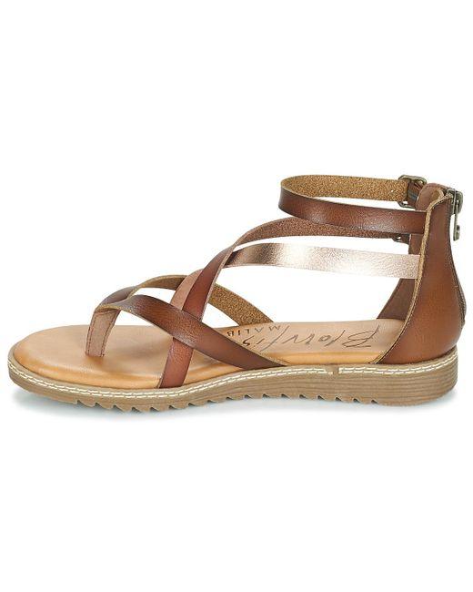 5a6beba1228 Blowfish Malibu Ohio Women s Sandals In Brown in Brown - Lyst