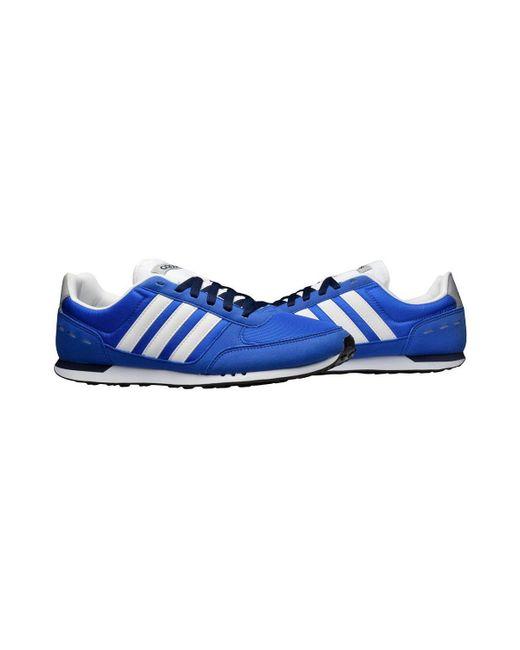 cheapest adidas neo city racer hvit 253a4 98354