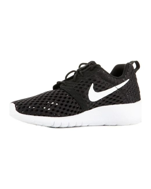 37072531bc42 ... Nike - Roshe One Flight Weight 705485-008 Women s Shoes (trainers) In  Black ...