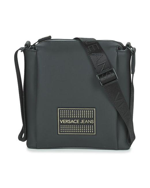 Versace Jeans Ey1tbb53 Men s Pouch In Black in Black for Men - Lyst 958c79d834fad