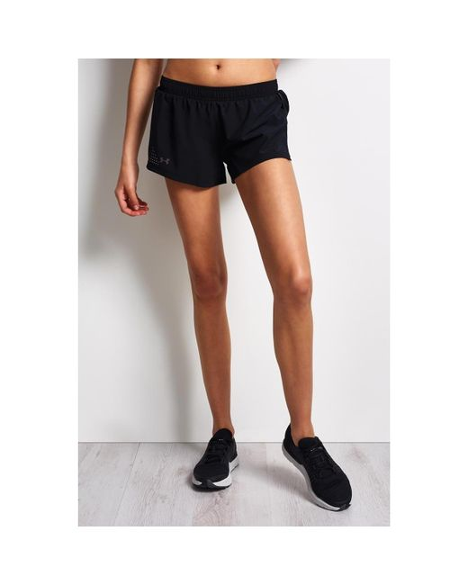 Under Armour - Accelerate Short Women's Shorts In Black - Lyst