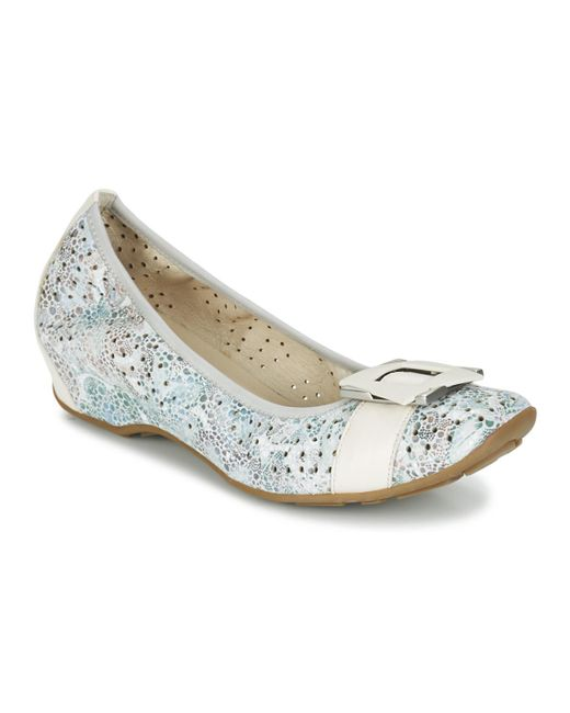 Mam'Zelle - Fenia Women's Shoes (pumps / Ballerinas) In Blue - Lyst