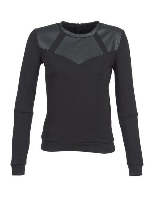 IKKS - Malice Women's Sweatshirt In Black - Lyst