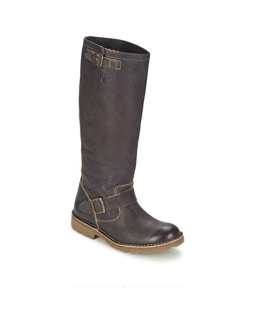Casual Attitude - Othil Women's High Boots In Brown - Lyst