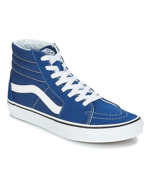 dbd54a67ad Vans Sk8-hi Men s Shoes (high-top Trainers) In Blue in Blue for Men ...