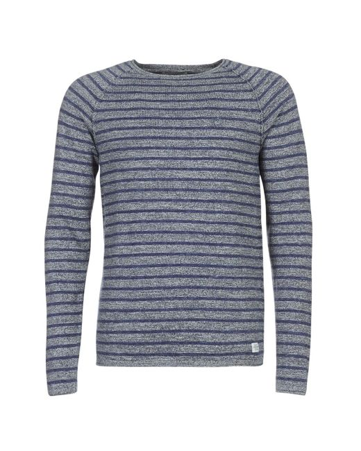 Jack & Jones - Gray Jorunion Men's Sweater In Grey for Men - Lyst
