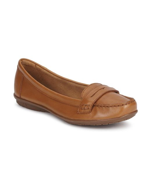 Hush Puppies | Ceil Penny Women's Loafers / Casual Shoes In Brown | Lyst