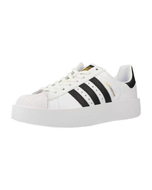 Lyst Adidas Superstar Audace W Scarpe Da Donna (Formatori) In Bianco