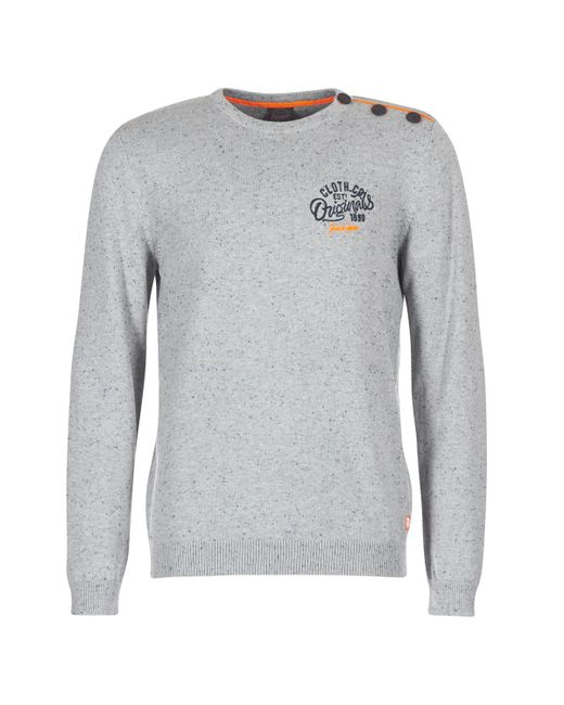Jack & Jones - Gray Jortrast Sweater for Men - Lyst
