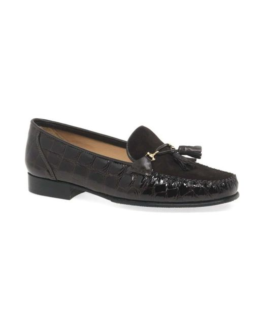Charles Clinkard - Poppy Womens Moccasins Women's Loafers / Casual Shoes In Brown - Lyst