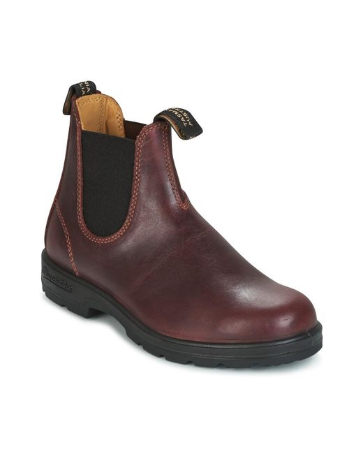 Blundstone | Comfort Boot Men's Mid Boots In Red for Men | Lyst