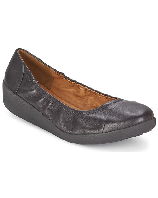 Fitflop - Ff2tm F-poptm Ballerina Women's Shoes (pumps / Ballerinas) In Black - Lyst