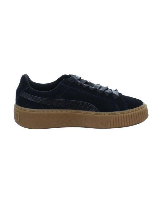 61f4e2d1c9c5 ... PUMA - Suede Platform Bubble Wns Women s Shoes (trainers) In Black ...