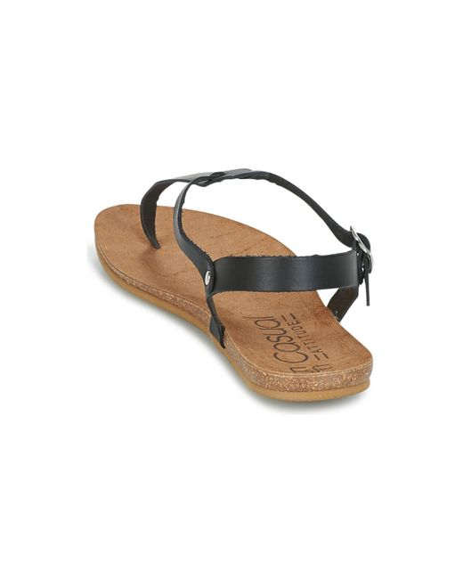 Casual Attitude Iplem Women s Sandals In Black