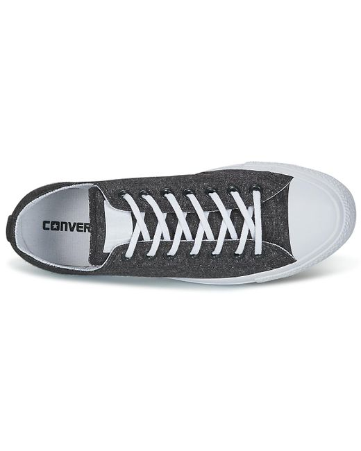 f1d1e746508870 ... Converse - Gray Chuck Taylor All Star Ox Essential Terry Men s Shoes  (trainers) In ...