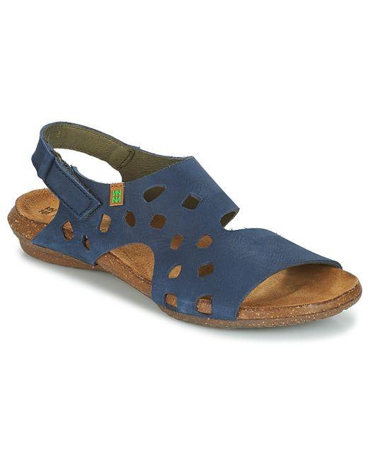 El Naturalista - Wakataua Women's Sandals In Blue - Lyst