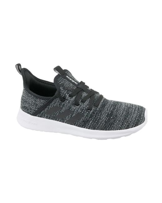 b59d09048 Adidas Cloudfoam Pure Women s In Black in Black for Men - Save ...