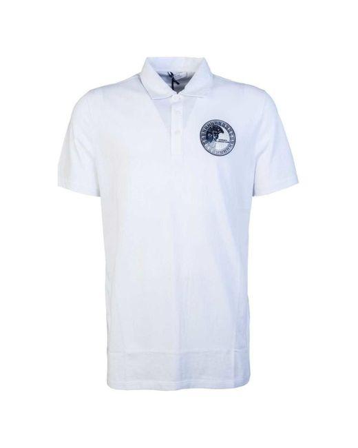 e4167b29 Versace - Polo Shirts V800708c Vj00180 Men's Polo Shirt In White for Men ...