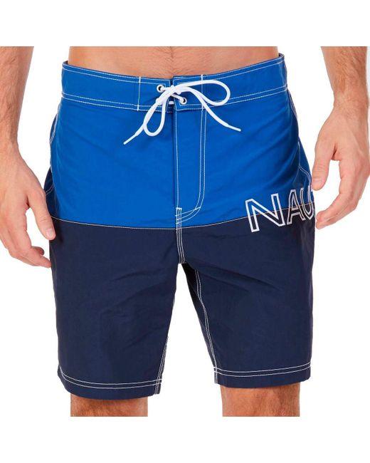 T81100-4MM hommes Maillots de bain en bleu Nautica pour homme en coloris Blue