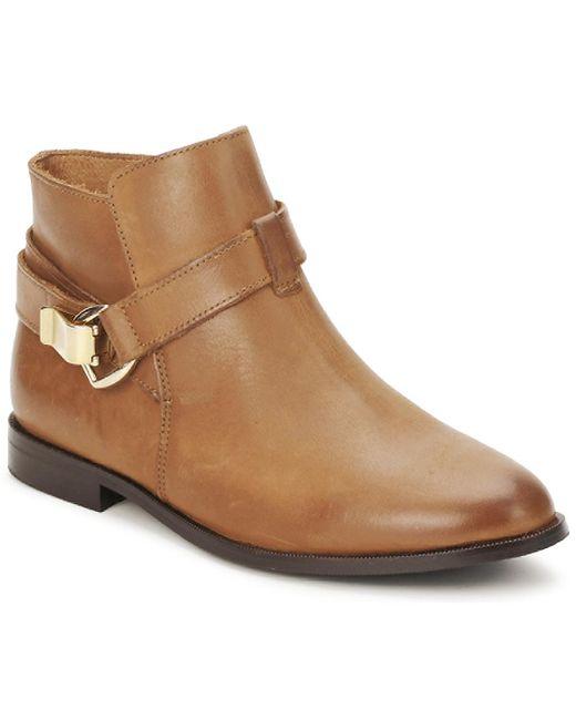 Betty London - Doodi Women's Mid Boots In Brown - Lyst