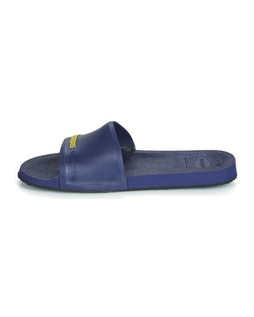 SLIDE BRASIL hommes Claquettes en bleu