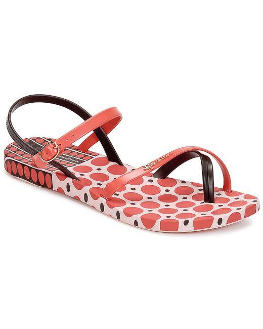 Ipanema   Fashion Sandal Iii Women's Sandals In Red   Lyst