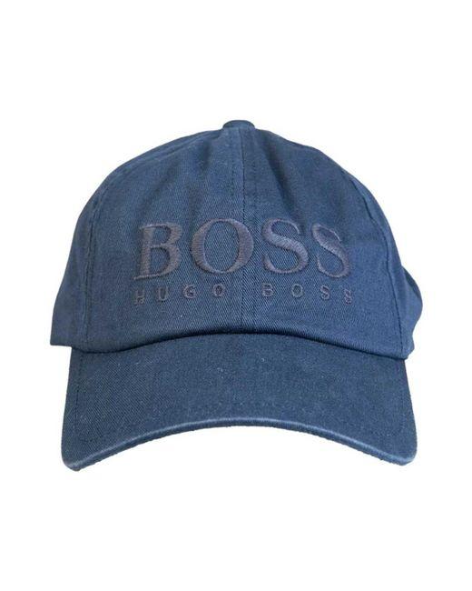 a3c1fb8ee0b BOSS - Baseball Cap Model Quot fritz 50378282 Quot  Men s Cap In Blue for  ...