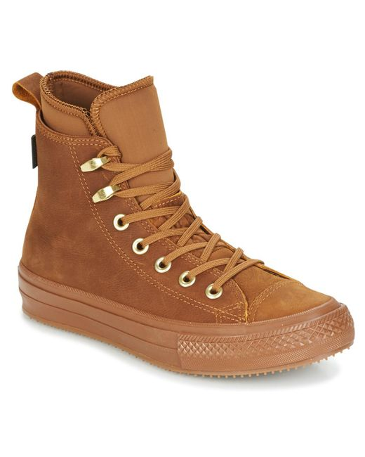 04e108925648 Converse - Chuck Taylor Wp Boot Women s Shoes (high-top Trainers) In Brown  ...