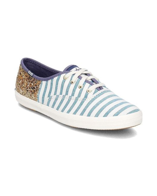 Keds - Stripe Women's Shoes (trainers) In White - Lyst