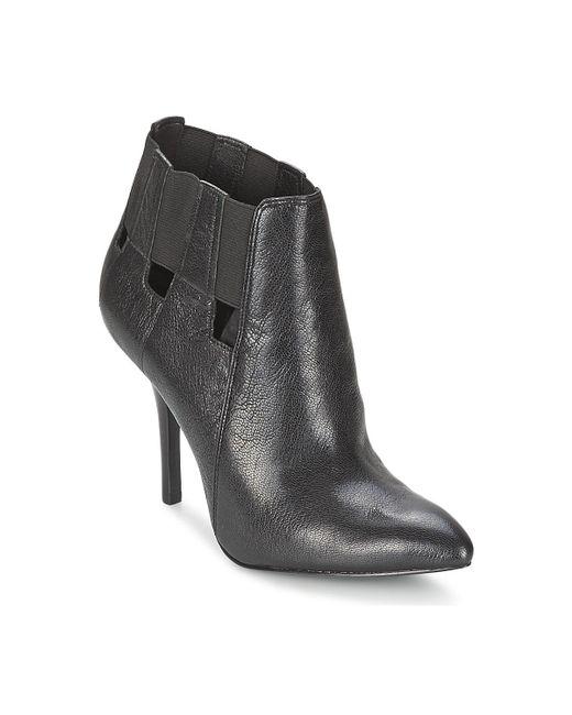 Nine West | Julieanne Women's Low Ankle Boots In Black | Lyst
