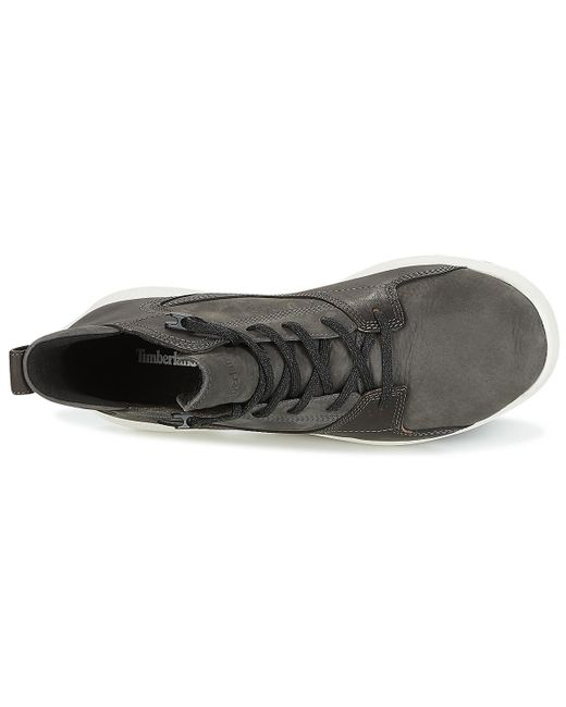 e748b751c02 ... Timberland - Black Flyroam Leather Hiker Shoes (high-top Trainers) for  Men ...