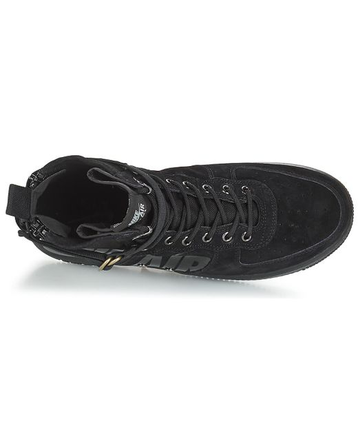 e3753573597 Nike Sf Air Force 1 Mid Men s Shoes (high-top Trainers) In Black in ...