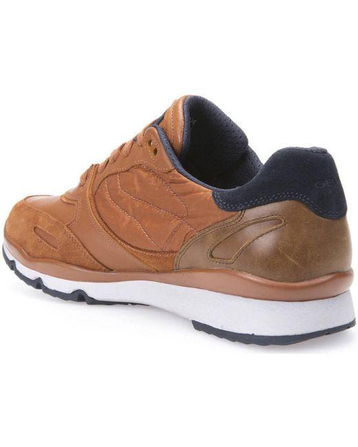 ... Geox - U44s7a 022fu Sneakers Man Arancio Men's Shoes (trainers) In  Orange for Men ...