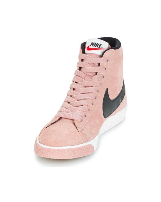 En Suede Chaussures Blazer Mid Coloris Rose Nike W Vintage Femmes dxWroBCe