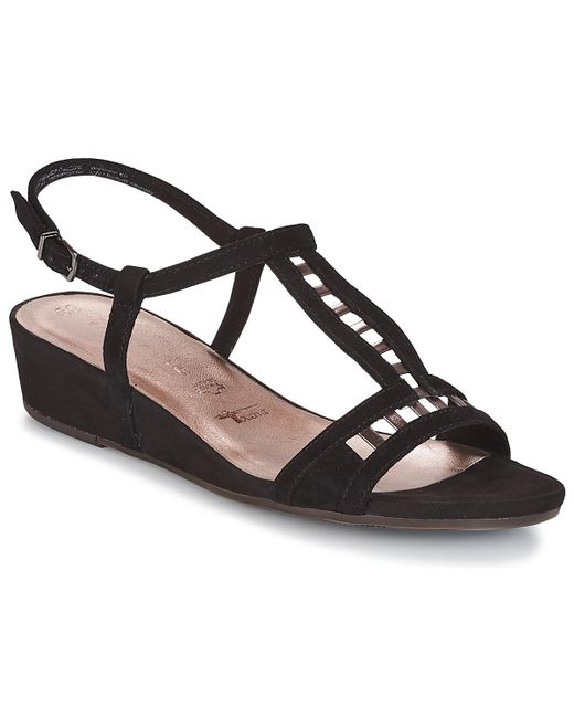 Tamaris - Gacapon Women's Sandals In Black - Lyst