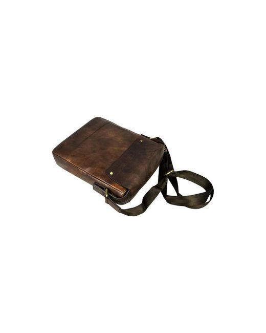 Time Resistance - Song Of Solomon Men's Messenger Bag In Brown for Men - Lyst