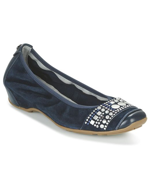 Mam'Zelle - Filae Women's Shoes (pumps / Ballerinas) In Blue - Lyst